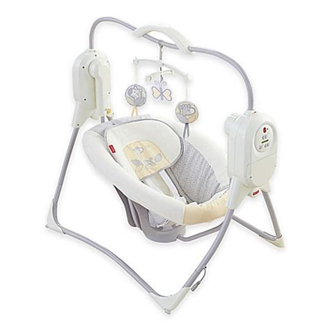 fisher price power plus swing buy fisher price 174 power plus spacesaver cradle n swing