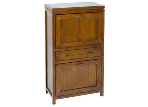 mueble colonial mueble zapatero colonial estrecho 2 puertas caj 243 n