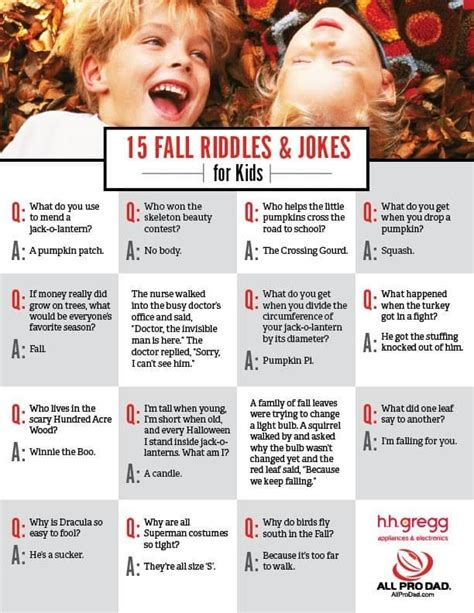 printable corny jokes 15 fall riddles and jokes for kids jokes jokes for kids