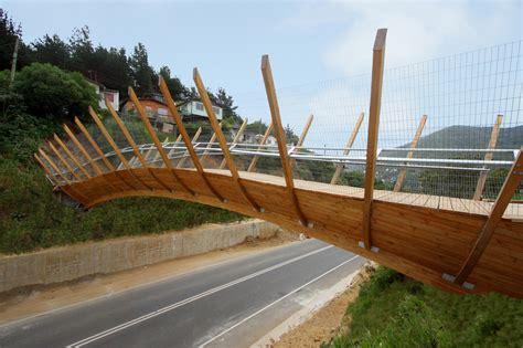 footbridge plans pedestrian bridge in zapallar enrique browne archdaily