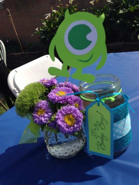 monsters inc baby shower centerpieces 25 best ideas about monsters inc centerpieces on
