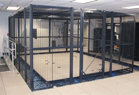 Sale Small Server 6 wire server cages secured server cages for network