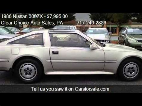 nissan 300zx for sale in pa 1986 nissan 300zx 2 2 2dr hatchback for sale in carlisle