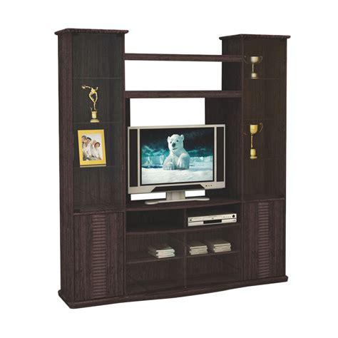 Lemari Hias Untuk Tv jual fcenter wu 8216 wenge lemari hias tv harga kualitas terjamin blibli
