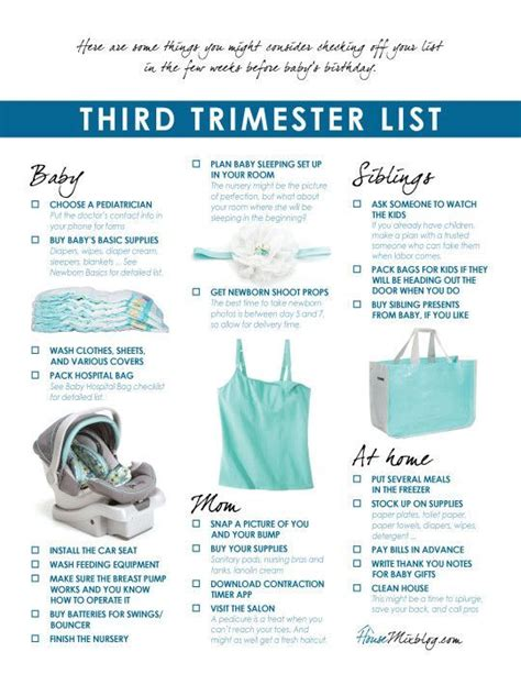 my parentimes printable checklists 9 babys layette best 25 preparing for baby ideas on pinterest baby