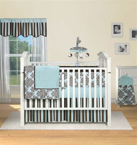Baby Boy Bedroom Set | 30 colorful and contemporary baby bedding ideas for boys
