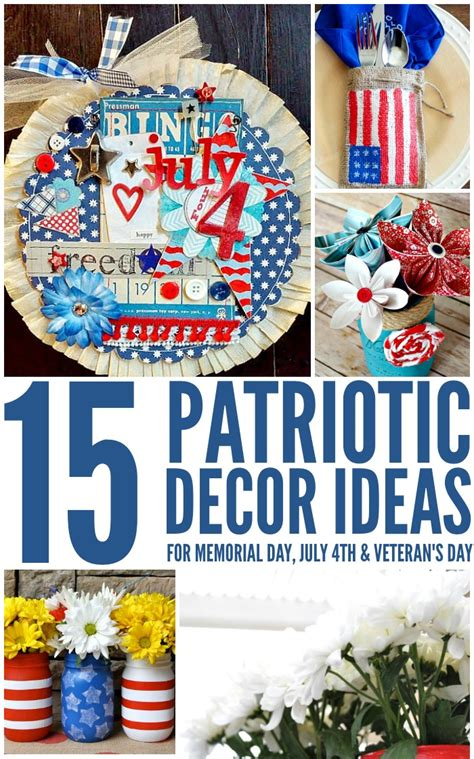 patriotic home decor ideas 4th of july archives a crafty spoonful
