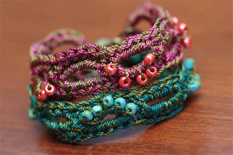 crochet jewelry patterns with 60 free vintage crochet jewelry ideas diy to make