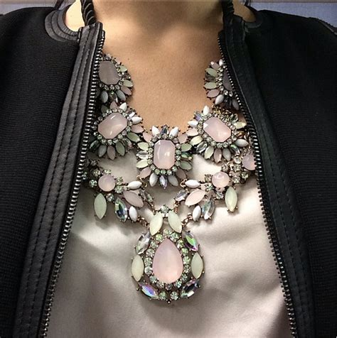 stunning statement necklace make a statement with a