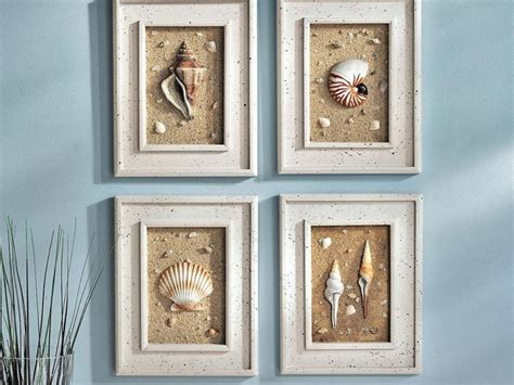 wall decor for bathroom ideas seashell bathroom set for beach theme office and bedroom