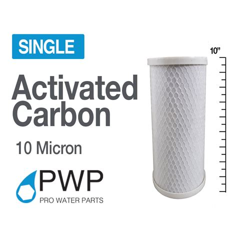 Filter Carbon Block 10 Rating 5 Micron Usa 4 5 x 10 in carbon block water filter whole house ro cto 10 micron ebay
