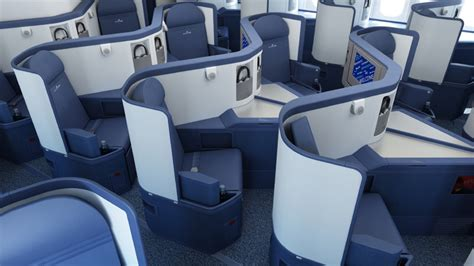 delta airlines business class seat configuration maximizing the newest business and class products on