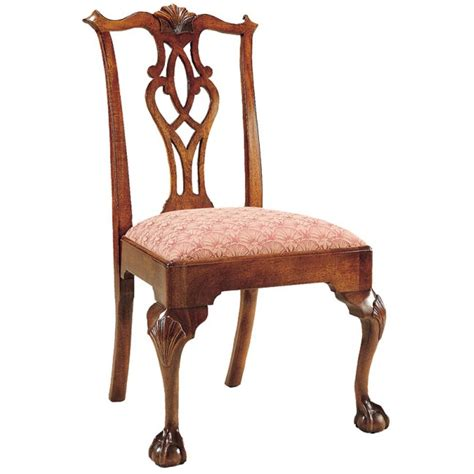 chippendale chairs chippendale ball claw side chair