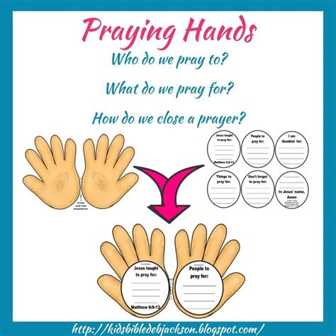 praying craft for bible activity and prayer helps praying bible