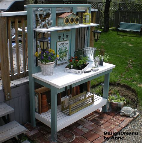 how to build a potting bench hometalk how to build a potting bench