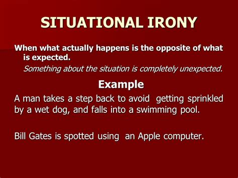 exles of situational irony www pixshark com images