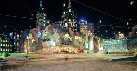 new year melbourne fed square did design make federation square a success the