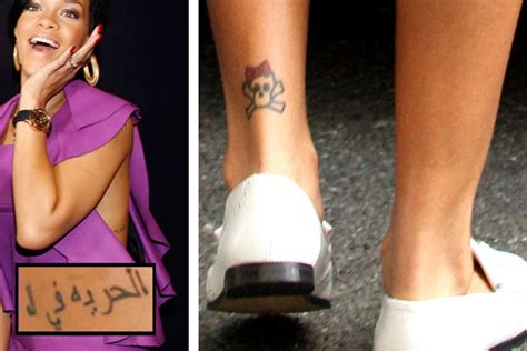 tattoo meaning rihanna rihanna tattoos meanings al hurria fi al maseeh tattoo