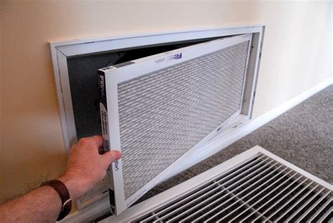 air conditioner furnace filter cleaning a central air conditioner