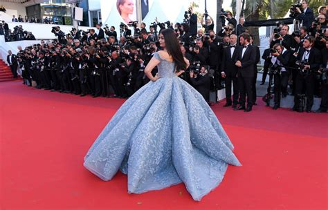 Cannes Festival by Aishwarya At Okja Premiere At 70th Annual Cannes