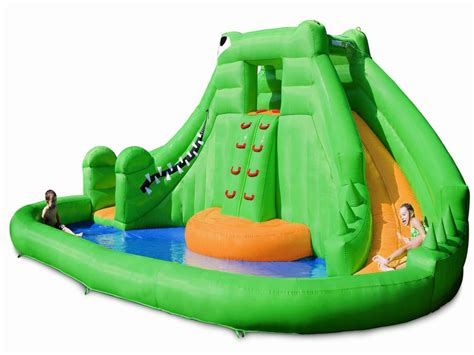 banzai big curve inflatable water park large inflatables