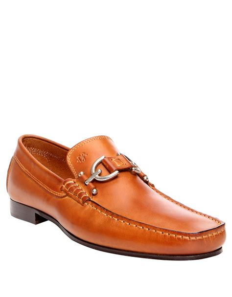 donald pliner loafers donald j pliner dacio loafer in brown for lyst