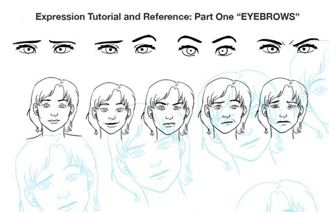 adding expression how to draw eyebrows step by step expression tut pt 1 eyebrows by chronicdoodler on deviantart
