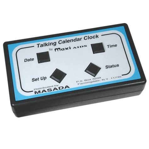 Calendar Alarm Talking Calendar Alarm Clock Talking Clocks
