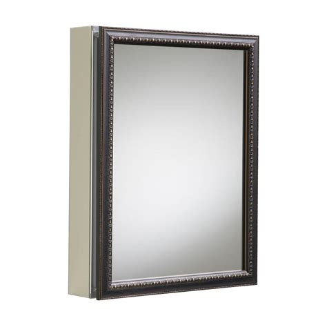 kohler mirrored medicine cabinet kohler 20 in x 26 in h recessed or surface mount