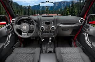 2011 Jeep Wrangler Interior 2011 Jeep Wrangler Gets New Interior Autotribute