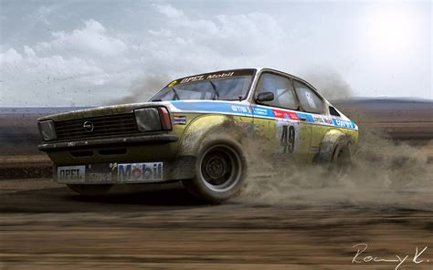 opel kadett rally car opel kadett rally by rkgrafixx on deviantart