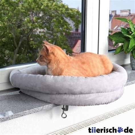 fensterbank liege katzen katzenliege fensterbank halbrund trixie g 252 nstig bestellen