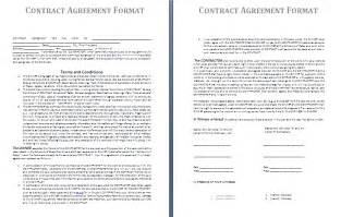 blank contract template free contract templates