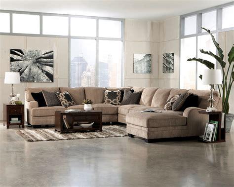 ashley katisha sectional katisha platinum raf chaise sectional 30500 ashley furniture