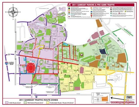lsu football parking map rolling into tuscaloosa this weekend some tips for routes