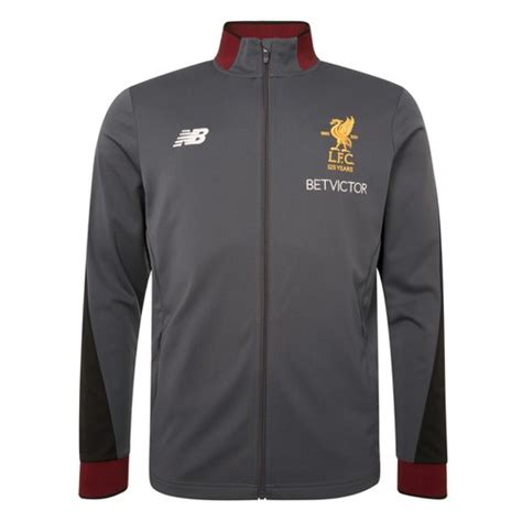 Hoodie Zipper Liverpool Nb 1 lfc official clothing tracksuits tops