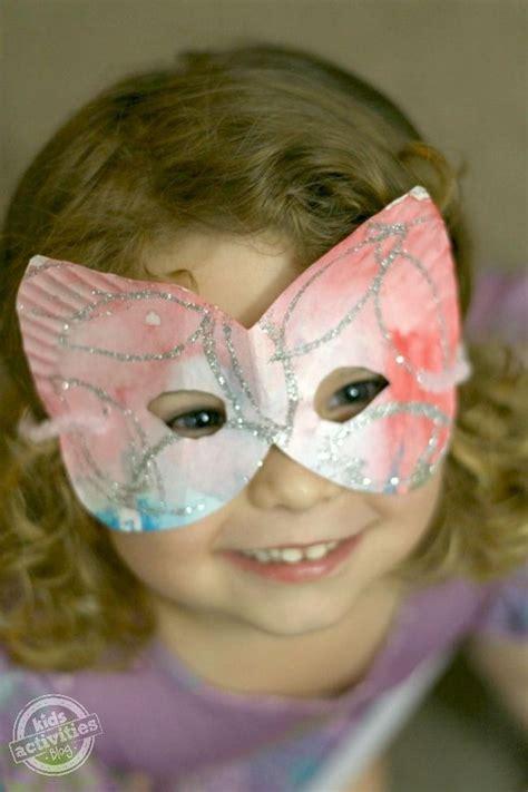 Paper Plate Mask Craft - 20 diy mask crafts for hative