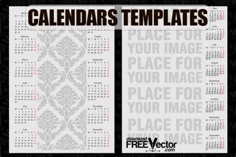 Design Vorlagen Kalender Free Vector Kalender Vorlagen Der Kostenlosen
