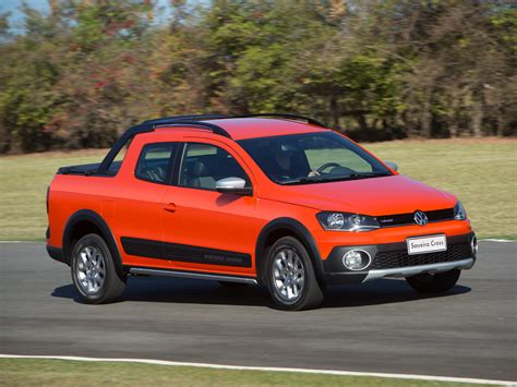 volkswagen brazilian 2014 volkswagen saveiro cross pickup gets crew cab version