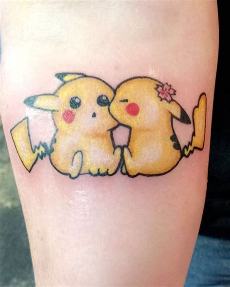 small pokemon tattoos 105 fabulous designs the great epoch is back
