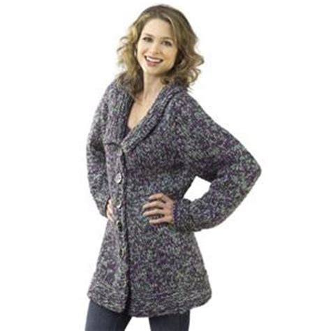 knitted jacket patterns free womens skill level easy