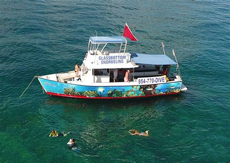 glass bottom boat experience south florida glass bottom boat tours sea experience