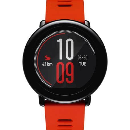 Xiaomi Amazfit Internasional Upversion Smartwatch With Rate Gps xiaomi amazfit smartwatch orange specifications photo xiaomi mi