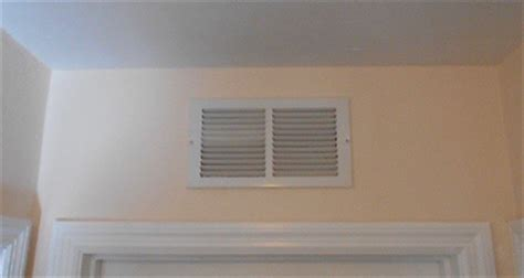 soundproofing air handler closet what is the purpose of the vent grille the bedroom door
