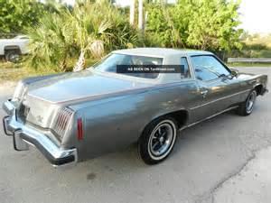 1975 Pontiac Grand Prix 1975 Pontiac Grand Prix Quot Lj Quot Match 400 V8 Auto