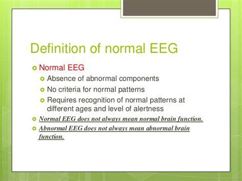 definition pattern absenteeism eeg dr archana