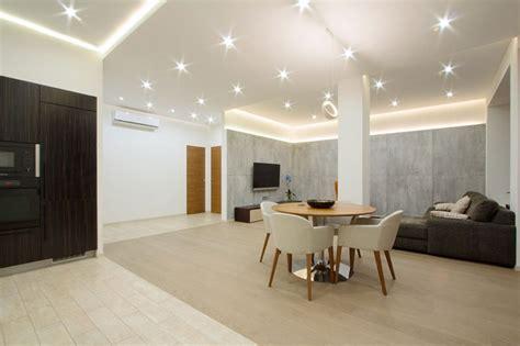 deckenbeleuchtung wohnzimmer moderne indirekte deckenbeleuchtung ideen f 252 r angenehmes