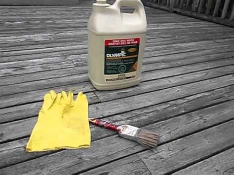 clean  deck  olympic deck cleaner youtube