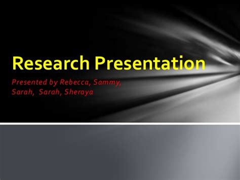 powerpoint research paper how to make a powerpoint presentation for research paper