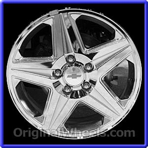 oem 2004 chevrolet impala used factory wheels from
